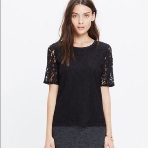 Madewell Laced Refined Tee